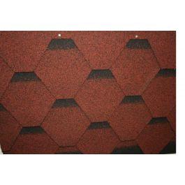Hexagonal Fibreglass Roofing Shingles 10yr Guarantee