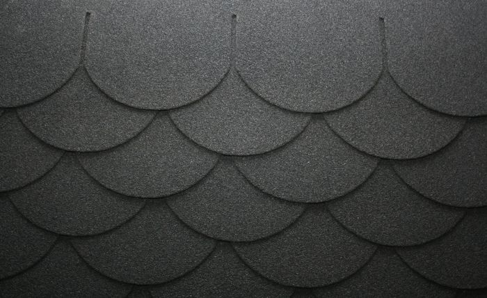 Scalloped Fibreglass Roofing Felt Shingles 10yr Guarantee – Scalloped Roof Shingles