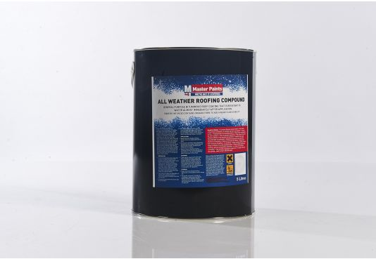 All Weather Roofing Compound - 5 Litre.
