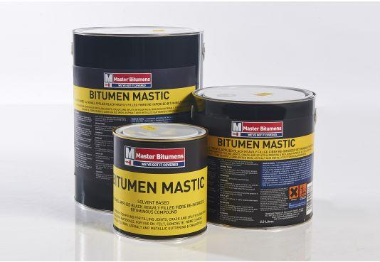 Bitumen Mastic - 1 Litre.