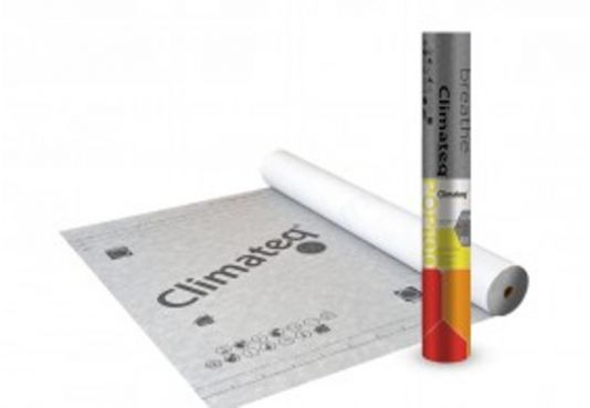 Climateq Pop 100 BBA Breathable Roofing Membrane -  50m x 1m