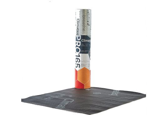 Climateq Pro 165 BBA  Breathable Roofing Membrane - 50m x 1m