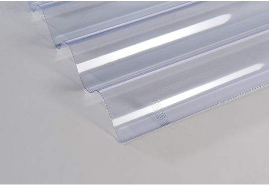ONDULINE Polycarbonate Transparent Corrugated Roofing Sheets   2m x 0.95m x 0.8mm