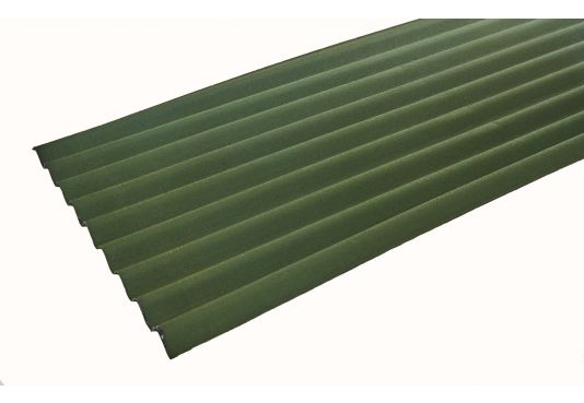 ONDULINE CLASSIC Corrugated Bitumen Roofing Sheets - GREEN  2m x 0.95m x 3mm