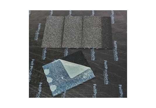 RIDGE Reinforced Fibreglass Shingles GREY (10yr Guarantee) - Peel off adhesive backing - (5m2 per pack)