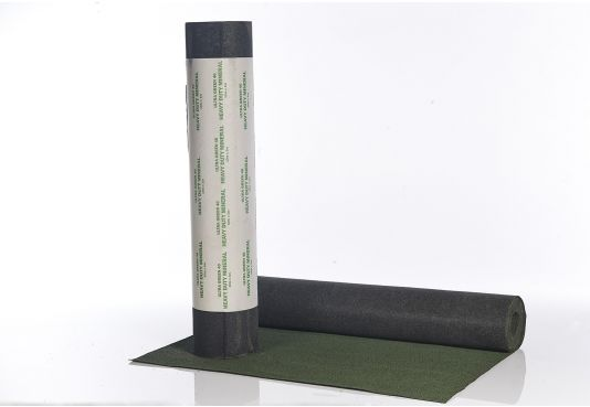 SUPERIOR HEAVY DUTY MINERAL SHED ROOFING FELT - Glass Fibre based -  10m x 1m