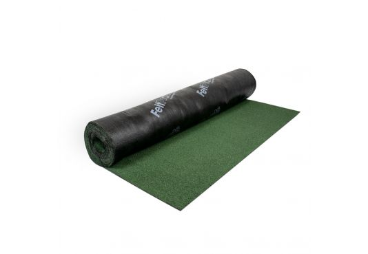Clout Nails (0.5kg) 13mm + Polyester Shed Roofing Felt (Green) 10m x 1m Combo